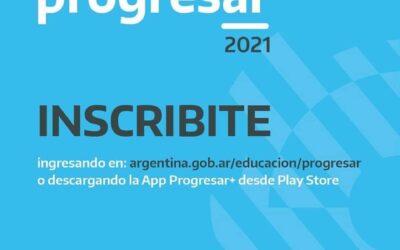 Inscribirte al Progresar 2021