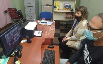 El área de discapacidad participa del encuentro virtual con el IPRODI.