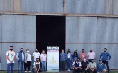 Producción municipal participó de un encuentro con FURA S.R.U y UADER subsede Santa Elena.