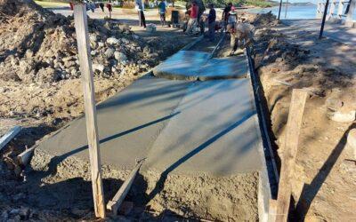 Continúa la segunda de las obras de zona costanera.
