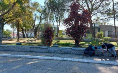 Puesta en valor de la plazoleta Belgrano